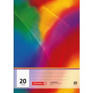 Brunnen Schulheft - DIN A4 - Lineatur 20 - 16 Blatt -...
