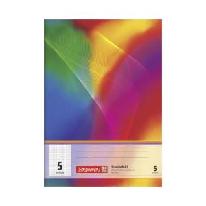 Brunnen Schulheft - DIN A5 - Lineatur 5 - 16 Blatt