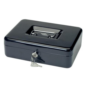 Wedo Geldkassette, 3, 250x180x90mm, 1236g, schwarz