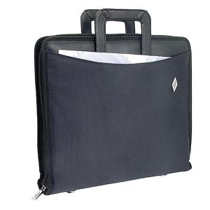 Wedo Ordner-Tasche, A4, bis 80mm breit, schwarz