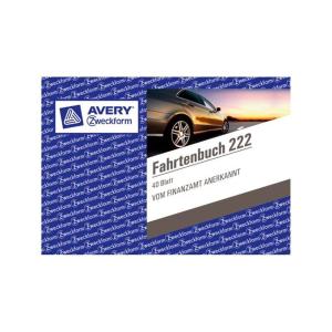 Avery Zweckform Fahrtenbuch km-Nachweis A6 quer mit