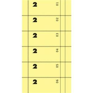 Avery Zweckform Formulare, Bonbuch, zitronengelb, mit...