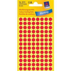 Avery Zweckform Markierungspunkte, Ø 8mm,...