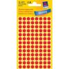 Avery Zweckform Markierungspunkte, Ø 8mm, PG=416ST, rot