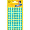 Avery Zweckform Markierungspunkte, Ø 8mm, PG=416ST, blau