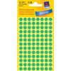 Avery Zweckform Markierungspunkte, Ø 8mm, PG=416ST, grün