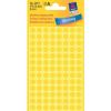 Avery Zweckform Markierungspunkte, Ø 8mm, PG=416ST, gelb