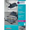 Avery Zweckform Laserfolie für Farb-Laserdrucker, A4,