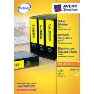 Avery Zweckform Ordner-Rückenschilder für alle...
