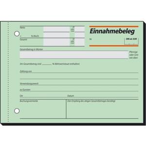 Sigel Einnahmebeleg EB615 mit Sicherheitsdruck