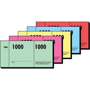 Sigel Formulare, Nummernblock/Garderobennummern