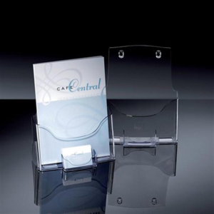 Sigel Prospekthalter Tisch-Prospekthalter acrylic