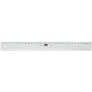 Möbius + Ruppert Lineal - Kunststoff - 20 cm -...