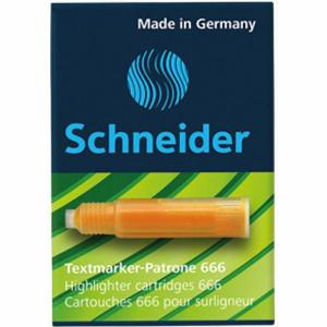 Schneider Textmarkerpatrone Maxx Eco 666 Packung 3...