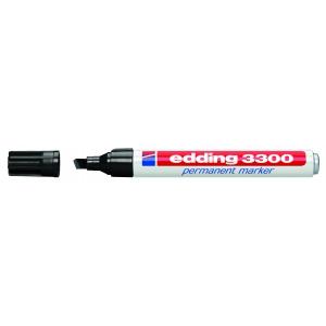 edding 3300 Permanentmarker - Keilspitze - 1-5 mm - schwarz