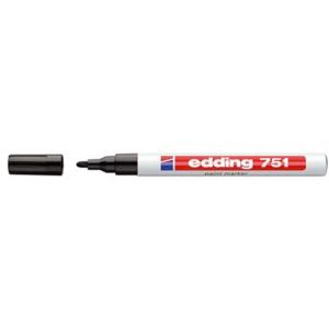 edding 751 Lackmarker - 1-2 mm - schwarz