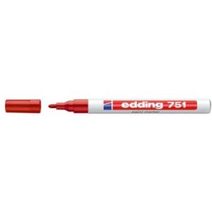 edding 751 Lackmarker - 1-2 mm - rot