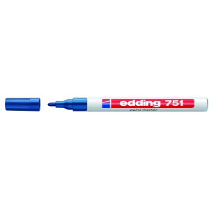 edding 751 Lackmarker - 1-2 mm - blau