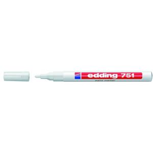 edding 751 Lackmarker - 1-2 mm - weiß
