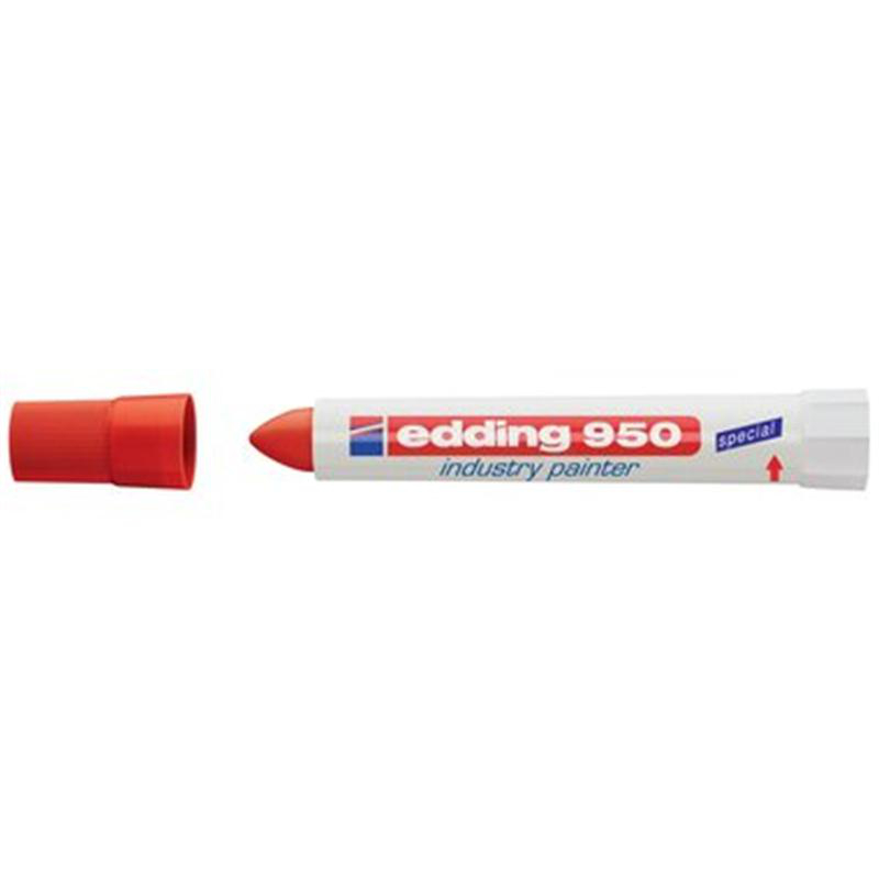 edding 950 Industry Painter - 10 mm - rot