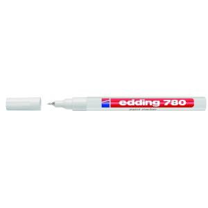 edding 780 Lackmarker - 0,8 mm - weiß