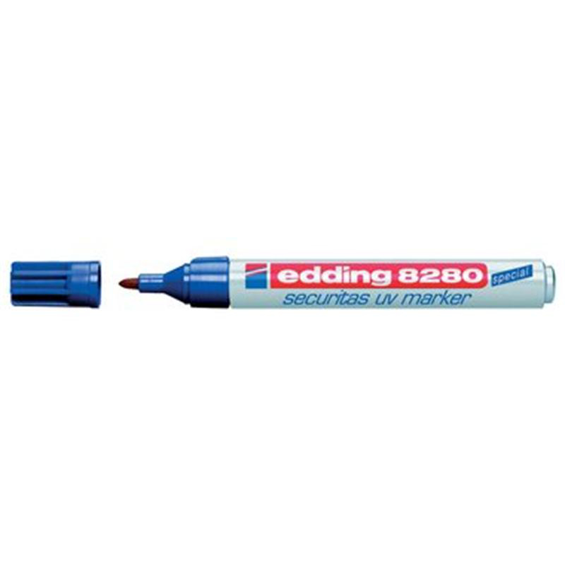 edding UV-Marker 8280 securitas, Rundsp. 1,5-3mm, farblos
