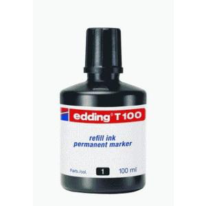 edding T100 Nachfülltinte Permanentmarker - schwarz...