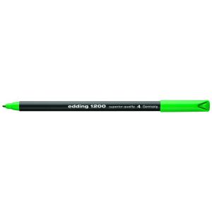 edding 1200 colour pen fine Fasermaler - 1 mm - grün