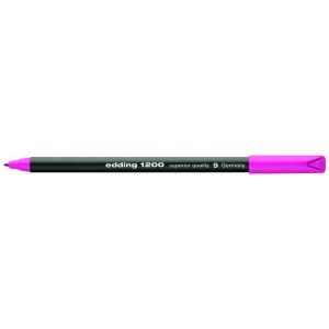 edding 1200 colour pen fine Fasermaler - 1 mm - rosa
