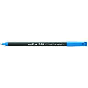 edding 1200 colour pen fine Fasermaler - 1 mm - hellblau