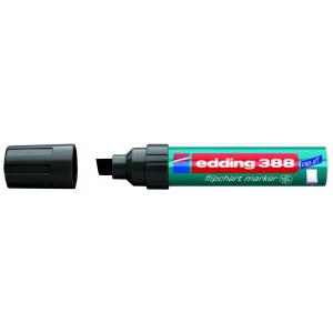 edding 388 Flipchartmarker - Keilspitze - 4-12 mm - schwarz