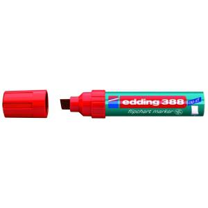edding 388 Flipchartmarker - Keilspitze - 4-12 mm - rot