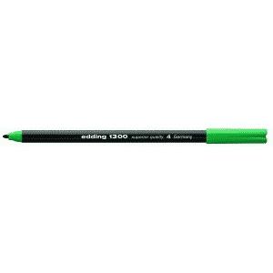edding 1300 colour pen Fasermaler - 2 mm - grün