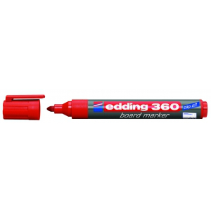 edding Whiteboardmarker 360, 1,5-3mm, rot
