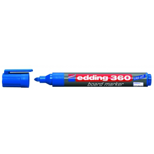 edding Whiteboardmarker 360, 1,5-3mm, blau