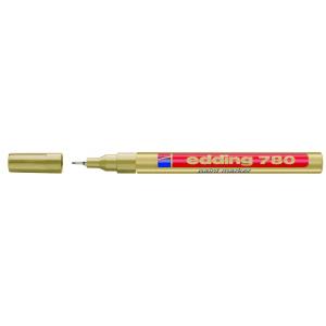 edding 780 Lackmarker - 0,8 mm - gold
