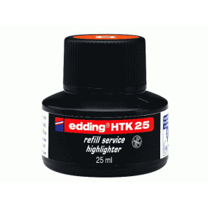 edding HTK25 Nachfülltinte Textmarker - orange - 25...
