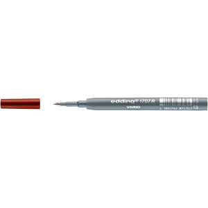 edding 1707 R VARIO Tintenrollermine - 0,5 mm - rot -...