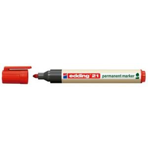 edding 21 EcoLine Permanentmarker - Rundspitze - 1,5-3 mm...