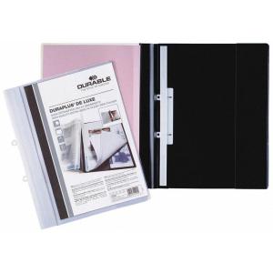 Durable Sichthefter DURAPLUS DE LUXE, A4, schwarz