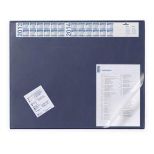 Durable Schreibunterlage mit Vollsichtplatte, 52x65cm, blau