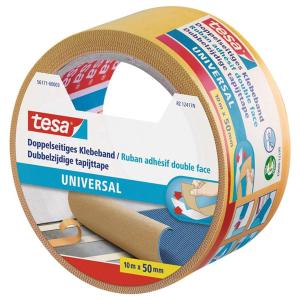 tesa Doppelseitiges Klebeband - Universal - 10 m x 50mm