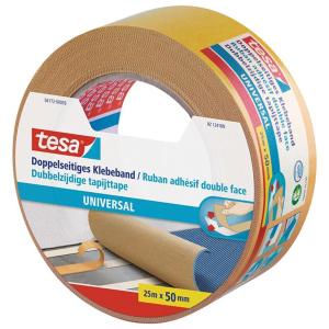 tesa Doppelseitiges Klebeband - Universal - 25 m x 50mm