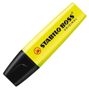 STABILO BOSS Textmarker - 4er Etui - 2+5 mm