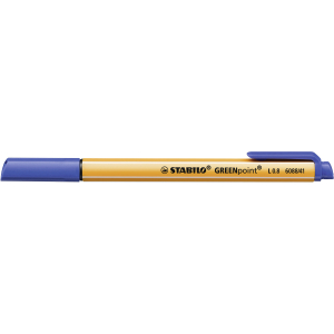 STABILO GREENpoint Filzstift - 0,8 mm - blau