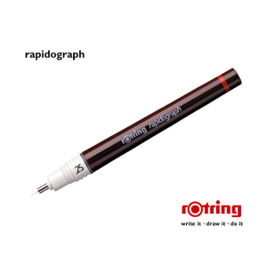 rotring Tuschefüller rapidograph, Strichstärke...