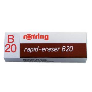 rotring Radierer rapid-eraser B 20