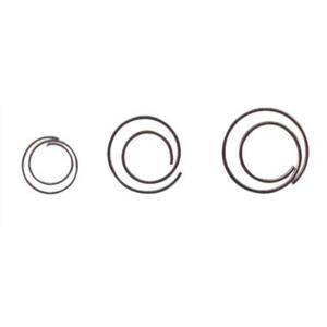 Alco Briefklammern Circular, 20mm, Form spiralförmig