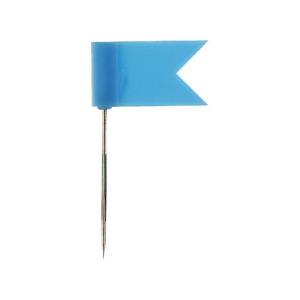 Alco Markierungsfähnchen, hellblau 20mm, VE=20...