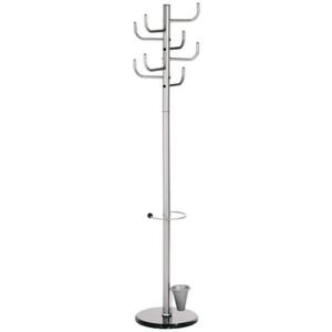 Alco Garderobenständer mit Marmorfuß, 172cm hoch
